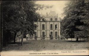 Ak Asnières sur Oise Val d'Oise, Val d´Oise