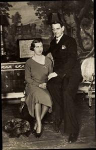 Ak Prinzessin Ingrid von Schweden und Kronprinz Frederik von Dänemark