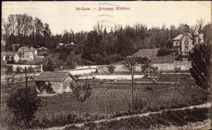Ak Saint Leu Val d´Oise, Avenue Kléber