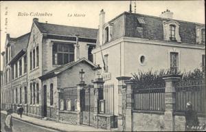 Ak Bois Colombes Hauts de Seine, La Mairie