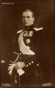 Ak König Olav V von Norwegen, Portrait