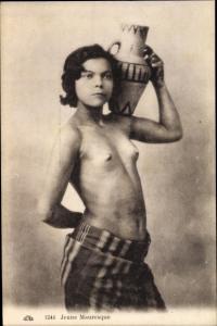 Ak Jeune Mauresque, barbusige Araberin, Maghreb