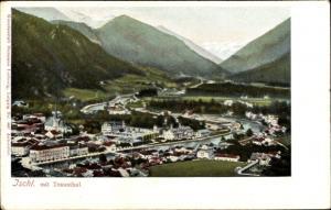 Ak Bad Ischl in Oberösterreich, Gesamtansicht mit Trauntal