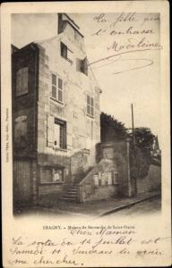 Ak Éragny Val d'Oise, Maison de Bernardin de Saint Pierre
