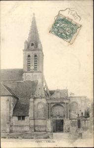 Ak Cergy Val d´Oise, Église