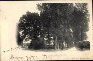 Ak Oncy Essonne, Route de Malesherbes