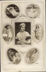 Ak Prinzessin Ingrid von Schweden, Königin von Dänemark, Portrait
