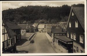 Ak Ründeroth Engelskirchen im Oberbergischen Kreis, Partie an der Aggerbrücke