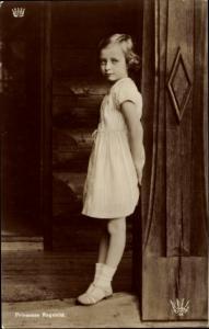 Ak Prinzessin Ragnhild von Norwegen, Portrait