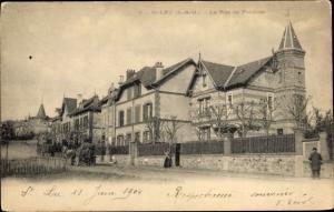 Ak Saint Leu Val d´Oise, Rue de Pontoise