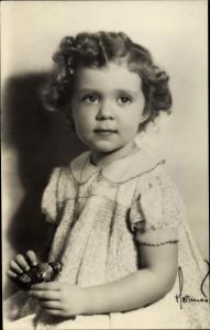 Ak Prinzessin Birgitta von Schweden, Portrait