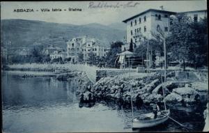 Ak Abbazia Kroatien, Villa Istria, Slatina