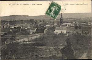 Ak Saint Leu Taverny Val d´Oise, Vue Générale