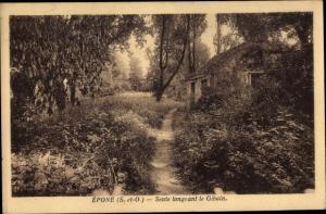 Ak Epone Yvelines, Sente longeant le Giboin