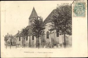 Ak Frepillon Val-d´Oise, Église