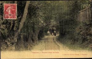 Ak Frepillon Val-d´Oise, Chemin Creux du Puits