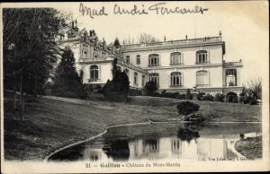 Ak Gaillon Eure, Château du Mont Martin