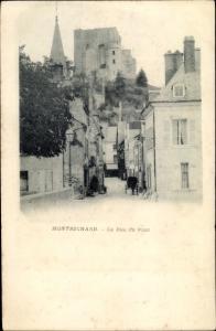 Ak Montrichard Loir et Cher, Rue du Pont
