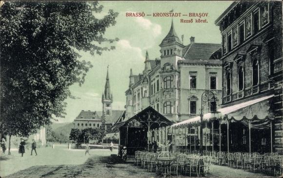 Ak Brașov Brassó Kronstadt Rumänien, Rezso korut 0