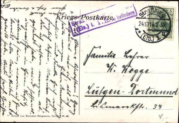 Künstler Ak Der Geist der Deutschen Armee, 1914, Friedrich der Große 1