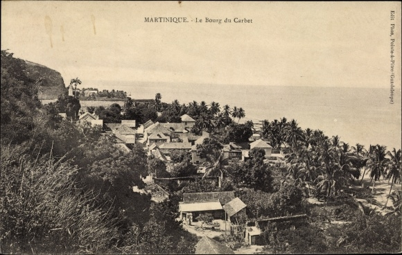 Ak Martinique, Le Bourg du Carbet 0