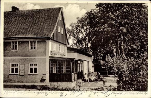 Ak Gryfice Greifenberg Pommern, Gasthaus Bergschlösschen 0