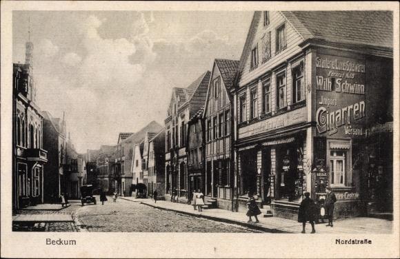 Ak Beckum in Westfalen, Nordstraße, Wilhelm Schwinn 0