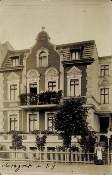 Ak Oranienburg in Brandenburg, Markgrafenstraße 9 0