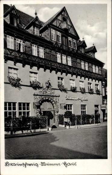 Ak Braunschweig in Niedersachsen, Mumme Haus 0