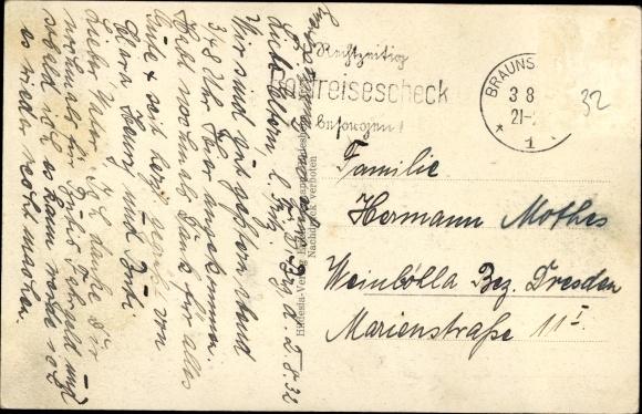 Ak Braunschweig in Niedersachsen, Am Burggraben 1
