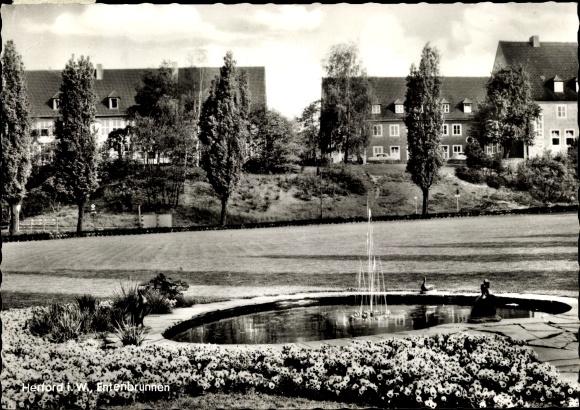 Ak Herford in Nordrhein Westfalen, Entenbrunnen 0