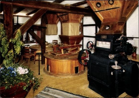 Ak Nümbrecht im Oberbergischen Kreis, Cafe Restaurant Historische Holsteinsmühle 0