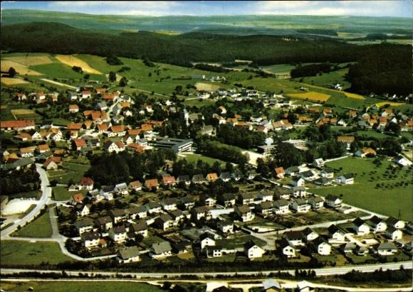 Ak Neuenheerse Bad Driburg Nordrhein Westfalen, Luftbild, Luftaufnahme 0