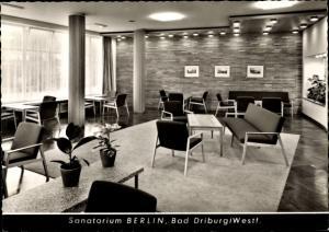 Ak Bad Driburg in Westfalen, Sanatorium Berlin BfA, Innenansicht
