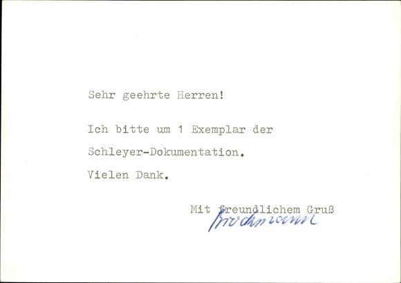 Ganzsachen Ak Paderborn in Westfalen, Dom im Jahre 1977 1