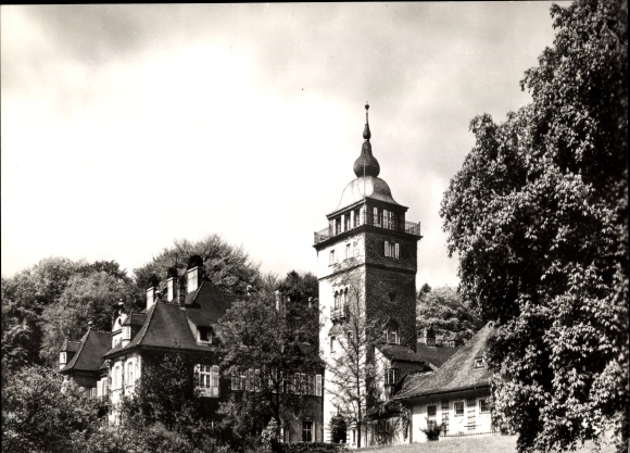 Ak Bergisch Gladbach Nordrhein Westfalen, Haus Lerbach, Tagungsstätte des G. Stresemann Instituts 0