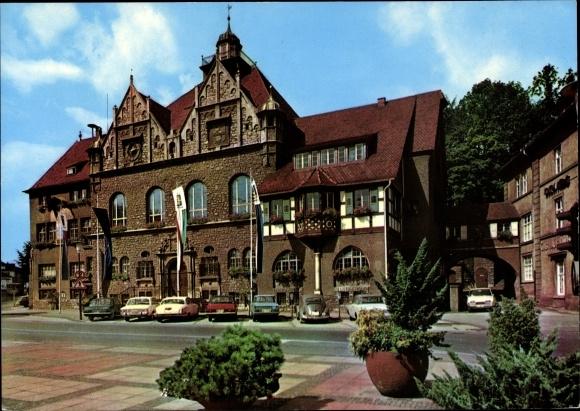 Ak Bergisch Gladbach Nordrhein Westfalen, Rathaus 0