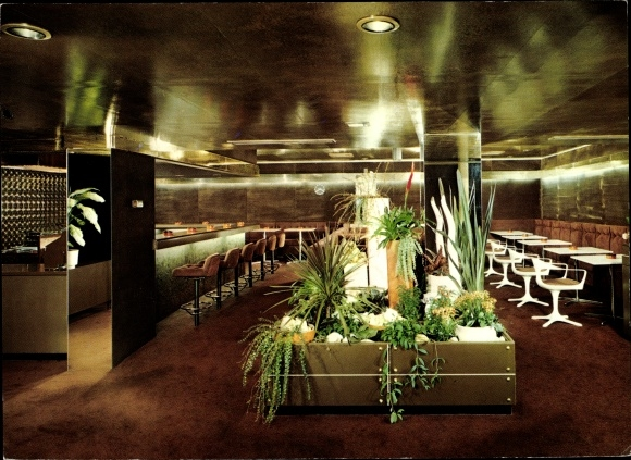 Ak Bonn am Rhein, Grill Bar im Bundeshaus Restaurant 0