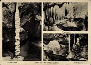 Ak Grüne Iserlohn im Märkischen Kreis, Dechenhöhle