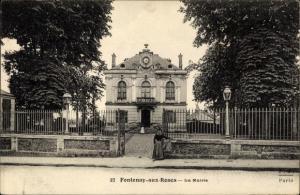 Ak Fontenay aux Roses Hauts de Seine, La Mairie