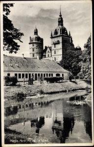 Ak Køge Danmark, Parti fra Vallø Slot