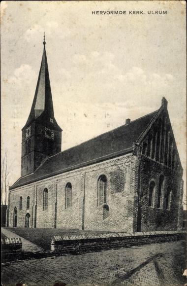 Ak Ulrum Groningen, Hervormde Kerk 0