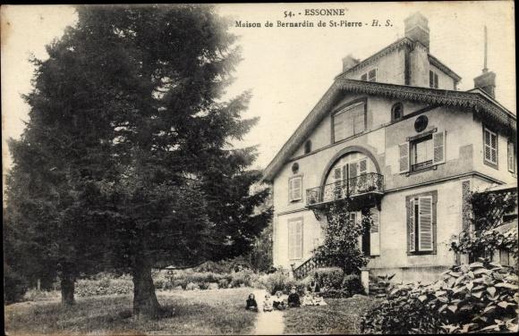Ak Essonnes Essonne, Maison de Bernardin de Saint Pierre 0