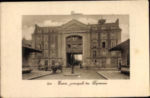 Ak Essonnes Essonne, Entrée des Papeteries
