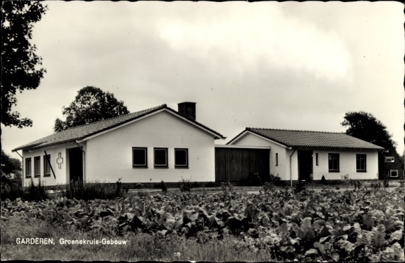 Ak Garderen Gelderland, Groenekruis Gebouw, Kohlfeld 0