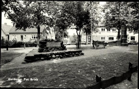 Ak Garderen Gelderland, Put Brink, Denkmal 0