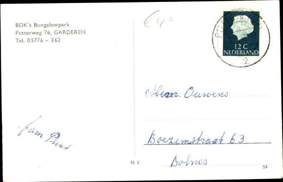 Ak Garderen Gelderland, Put Brink, Denkmal 1