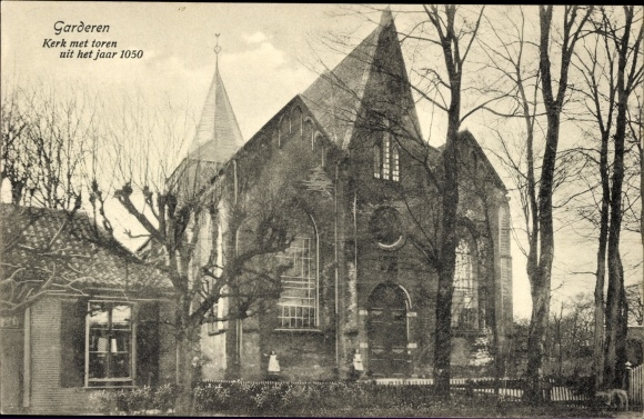Ak Garderen Gelderland, Kerk met toren 0