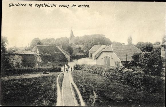 Ak Garderen Gelderland, Blick auf den Ort, Kirche 0