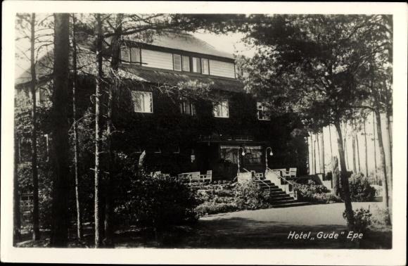 Ak Epe Gelderland Niederlande, Hotel Gude 0